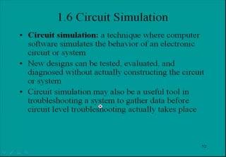 Tutorial explaining Circuit Simulation (Electronic Systems)