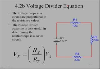 series circuits (part 2) voltage divider equation circuitsseries circuits (part 2) voltage divider equation circuits electronics video lecture