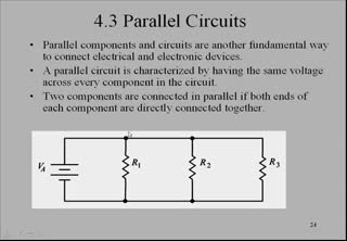 Parallel Circuits | Circuits | Electronics Video Lecture