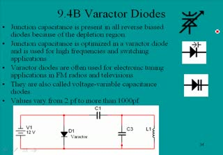 Special Diodes - Varactor Diodes | Diodes and Diode Circuits ...