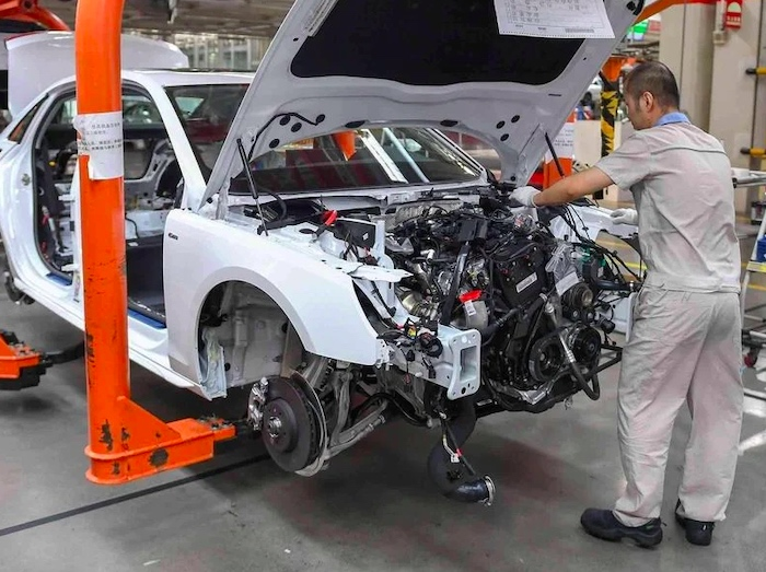 100 different types of chips in automotive systems