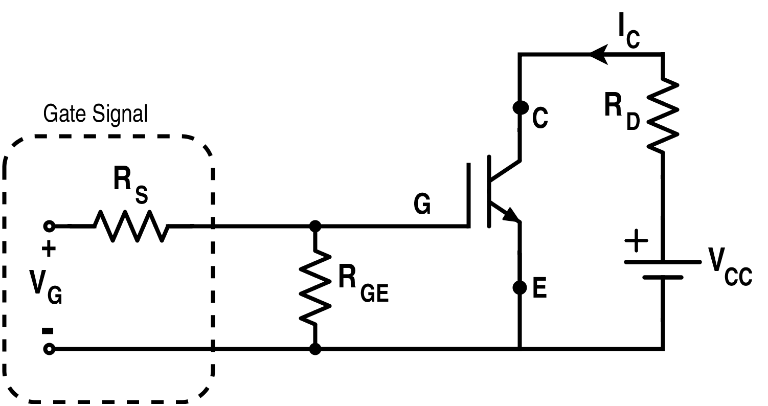 Circuit Diagram for IGBT