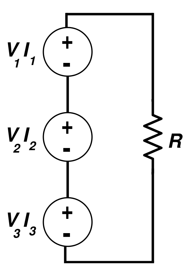 Equivalent Circuit Representation for the Multiple Excitation System