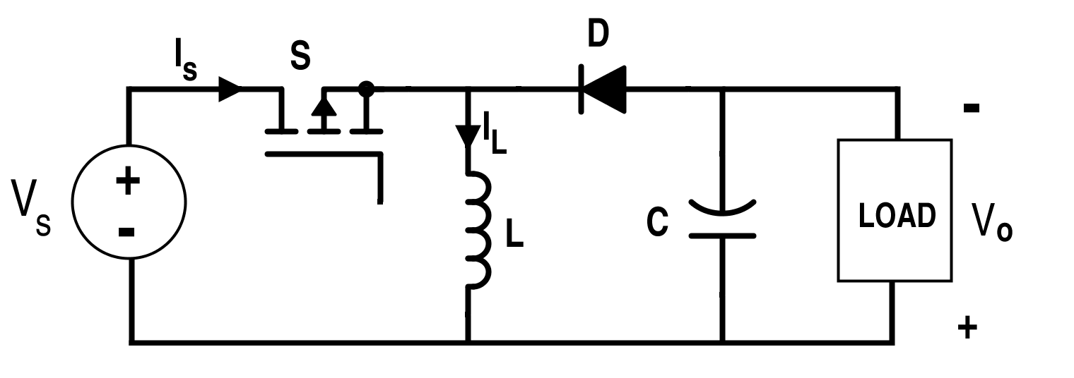 Circuit for the Non-Isolated Buck-Boost Converter