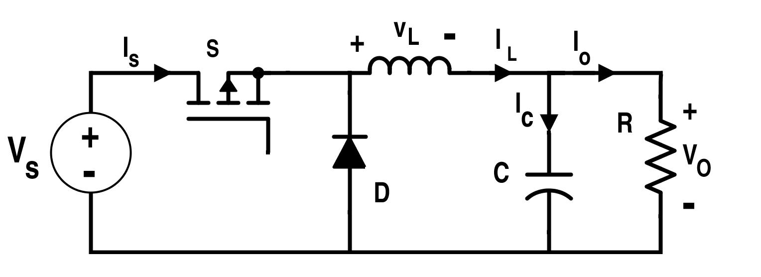 Circuit of an Ideal Buck Converter