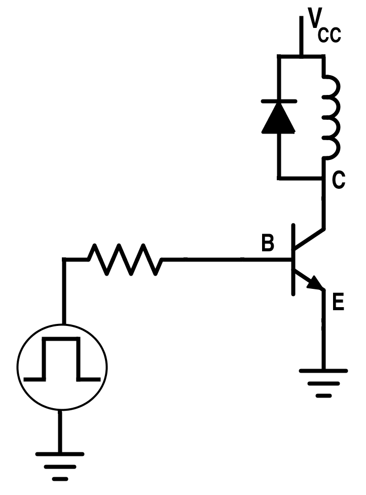 Circuit for Switching Power BJT