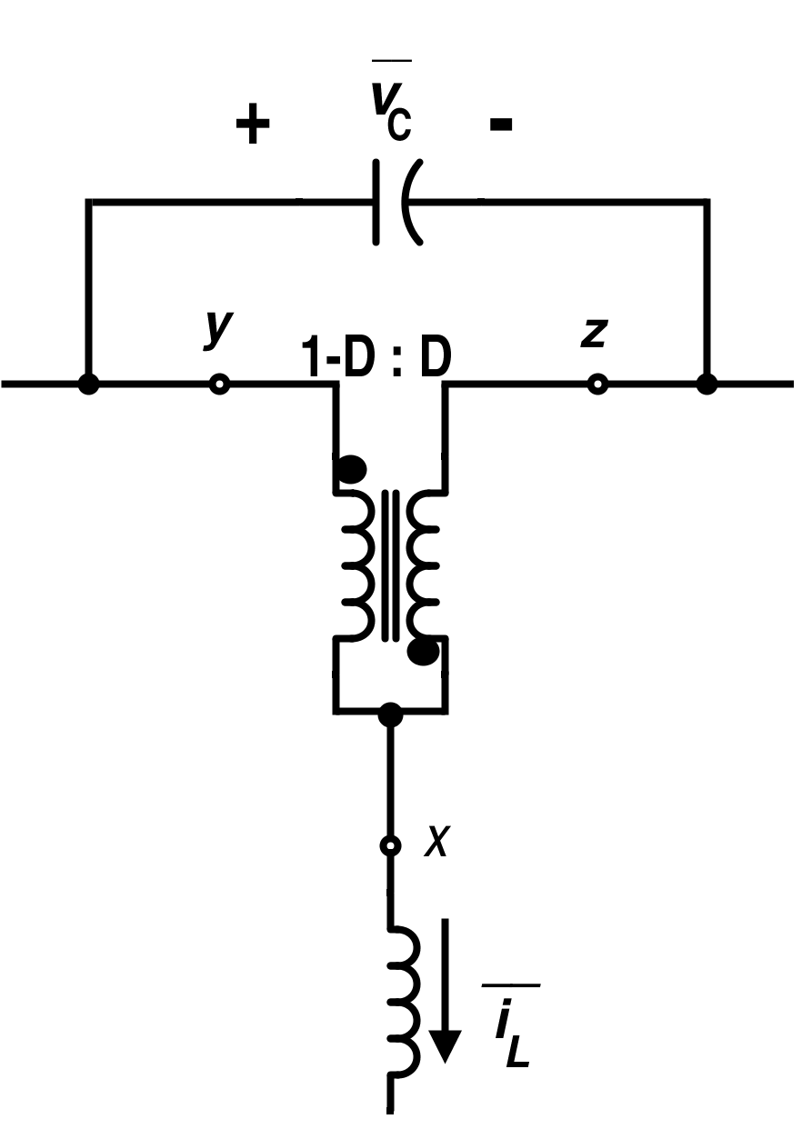 Average Circuit for Standard Switch Using an Ideal Transformer