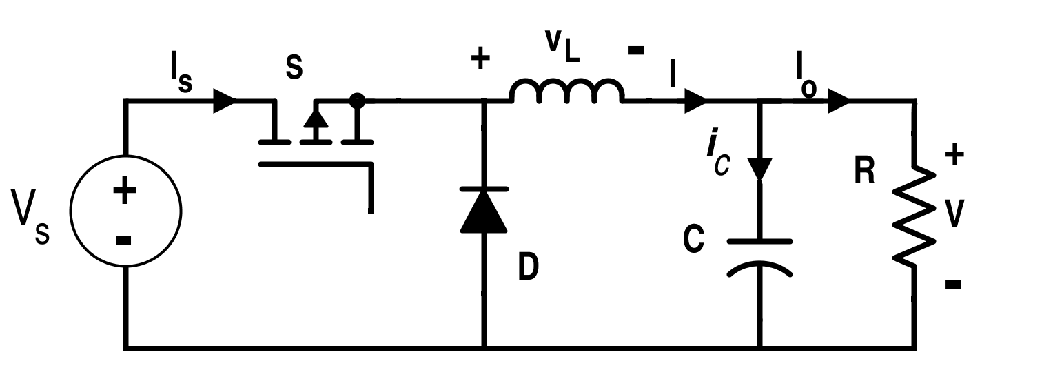 Switching Converter Circuit for Buck Converter