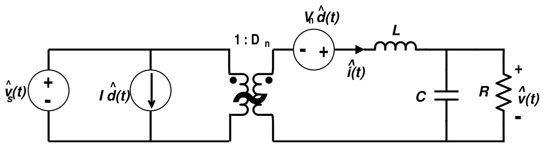 Linear Circuit Model for Buck Converter