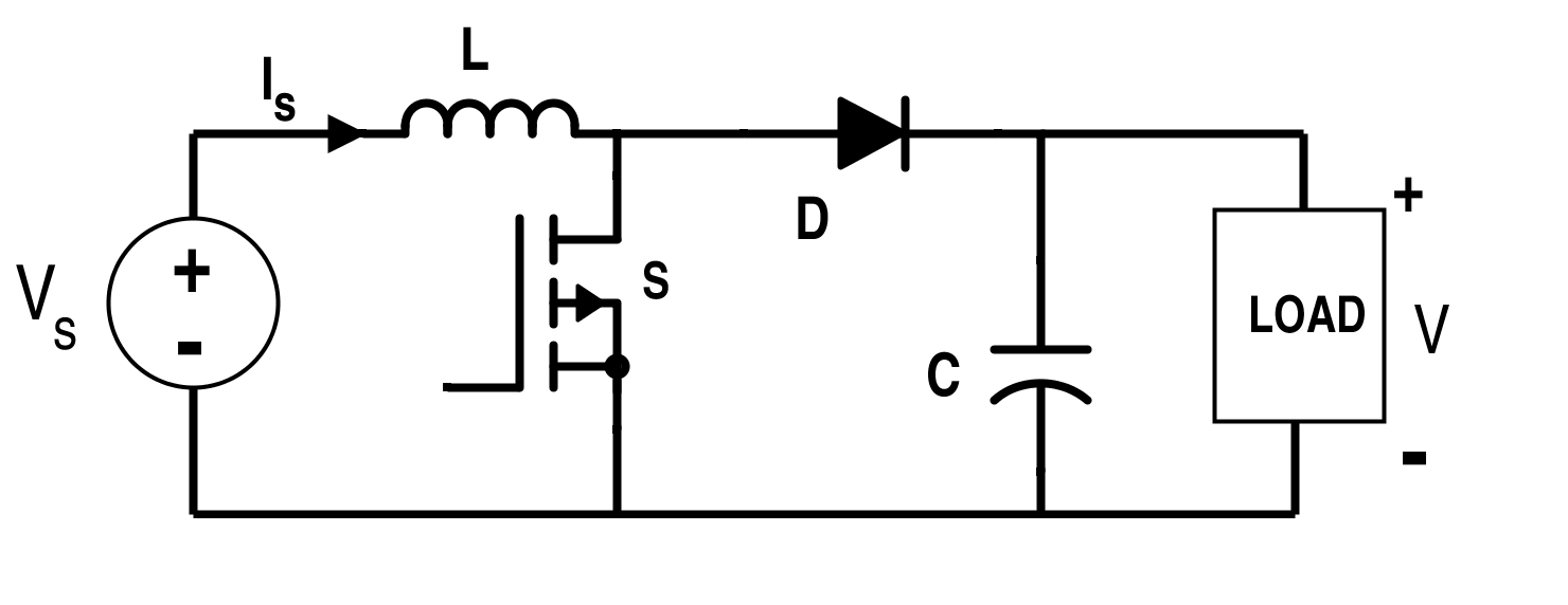 Switching Converter Circuit for Boost Converter