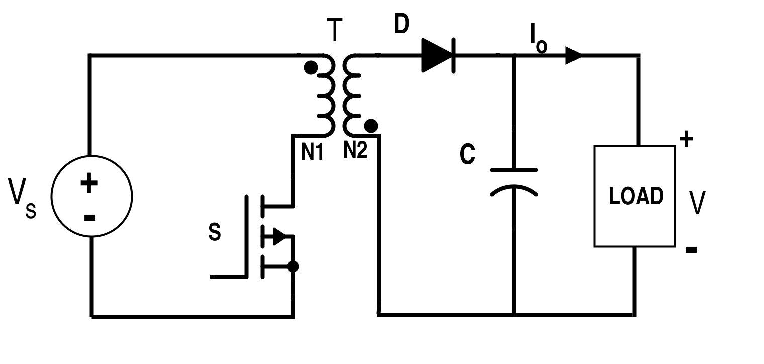 Switching Circuit for Flyback Converter