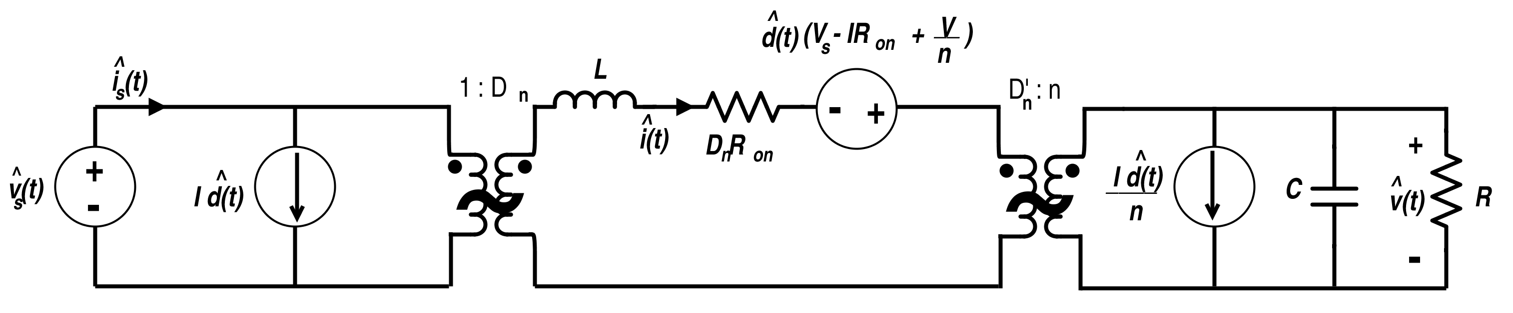 Linear Circuit Model for Flyback Converter