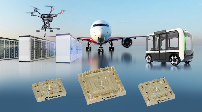 Microchip's latest power modules for greener avionics.