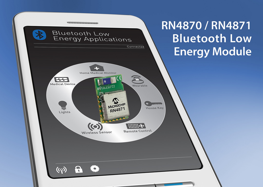 Microchip Produces the First Bluetooth 4 2-Compliant Devices