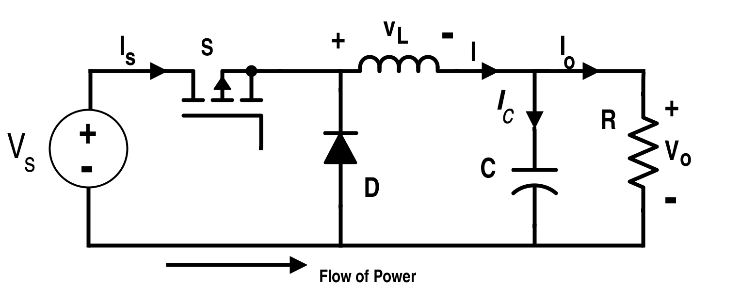 Circuit Diagram for Buck Converter