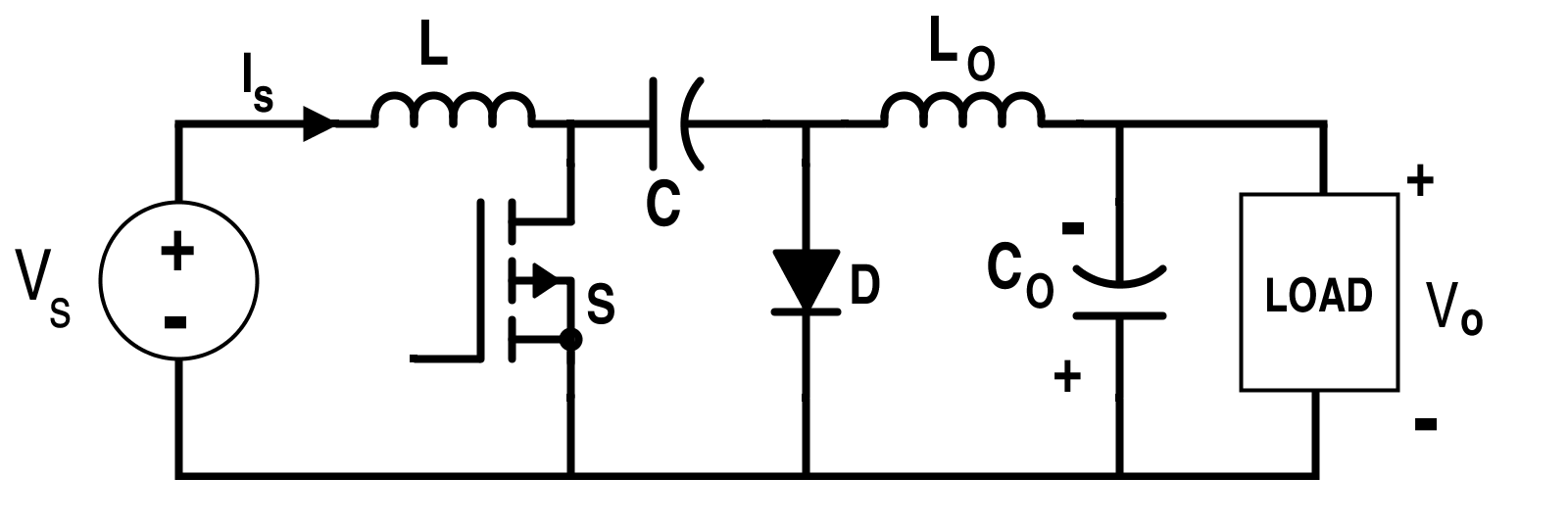 How To Use Simple Converter Circuits Boost Circuit Design Cuk