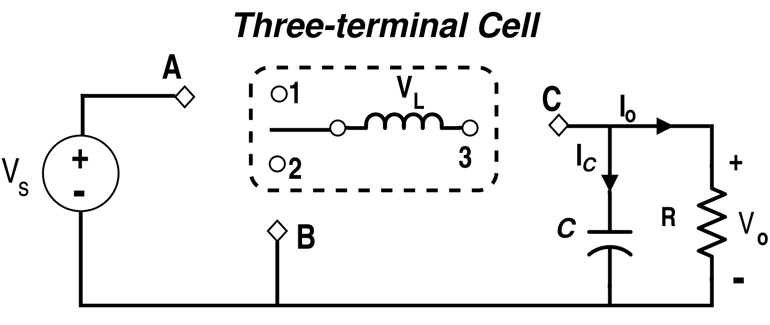Three-Terminal Cell Configuration (Inductor with SPDT Switch)