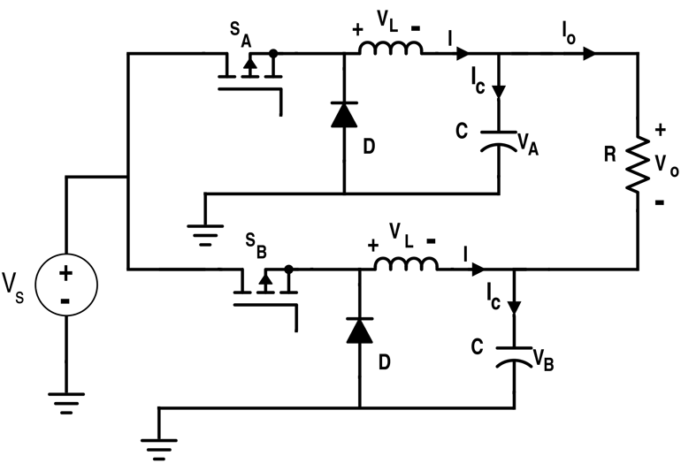 Differential Connection of Two Buck Converters