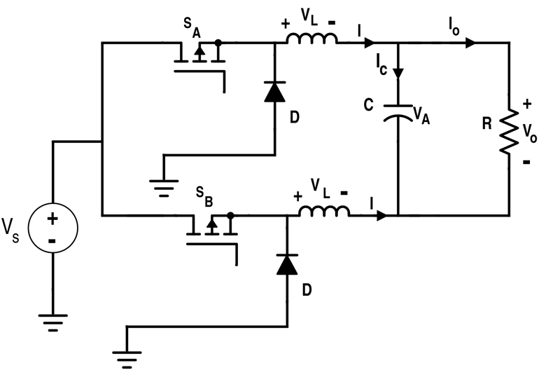 Simplified Differential Connection of Buck Converters