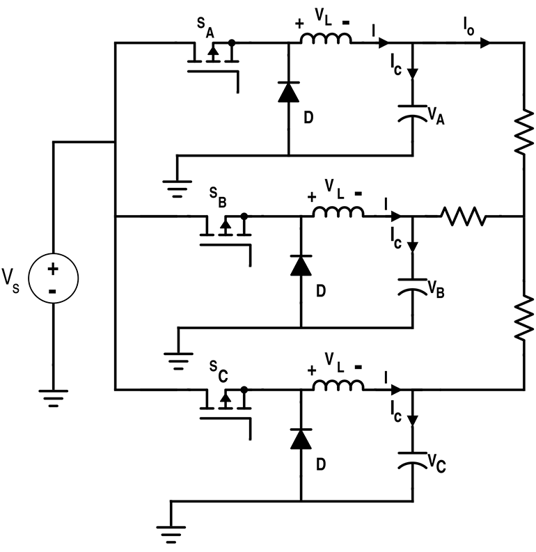 Differential Connection to Derive Three-Phase Inverter Configuration