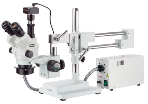 The simul-focal stereo zoom microscope