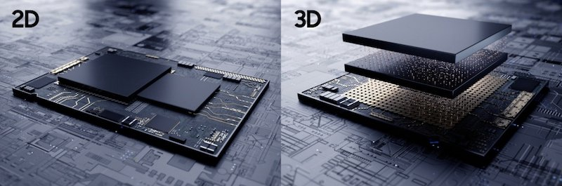3D IC technology illustration