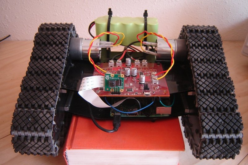 AAC's C-BISCUIT robot was powered by two brushed DC motors.