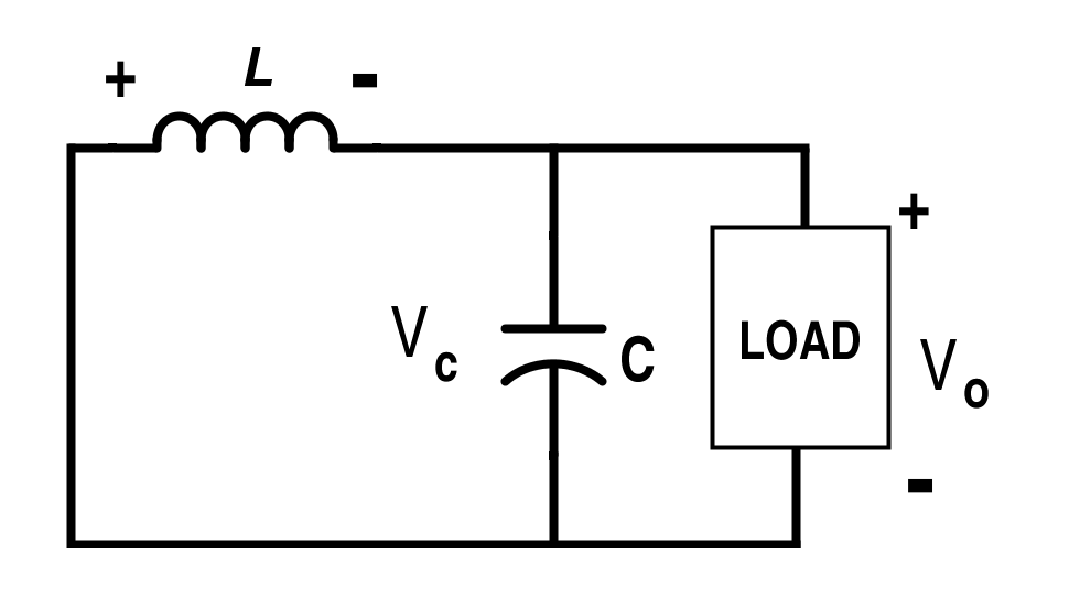 Buck Converter Circuit when Switch S is Off (Mode-II)