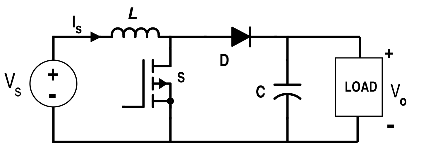 Boost Converter Circuit Diagram