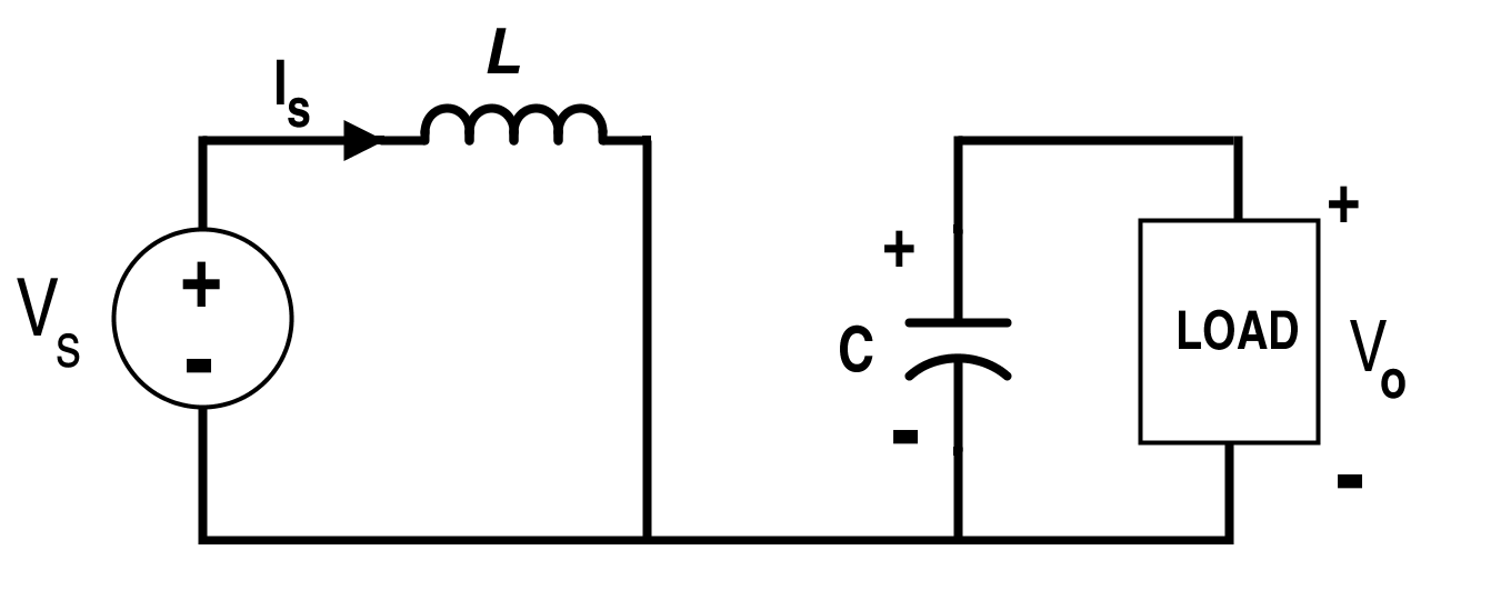 Boost Converter Circuit when Switch S is On (Mode-I)