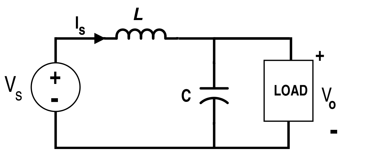Boost Converter Circuit when Switch S is Off (Mode-II)