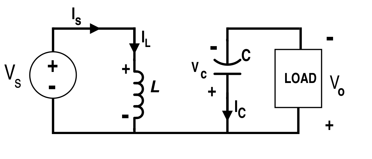 Buck-Boost Converter Circuit when Switch S is On (Mode-I)