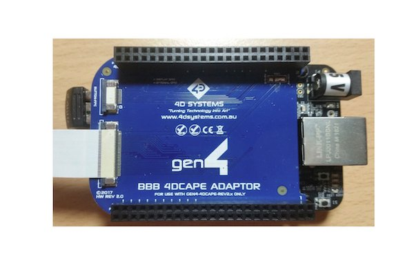 Adding a Capacitive Touch Display Module to the BeagleBone Black