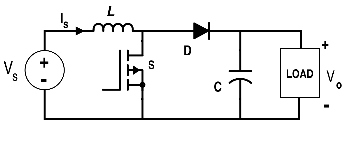 Circuit for Boost Converter
