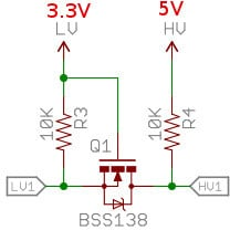 5V-3.3V Bidirectional Level Converter