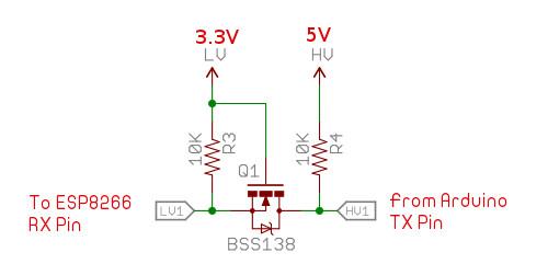 5V to 3.3V Level Converter