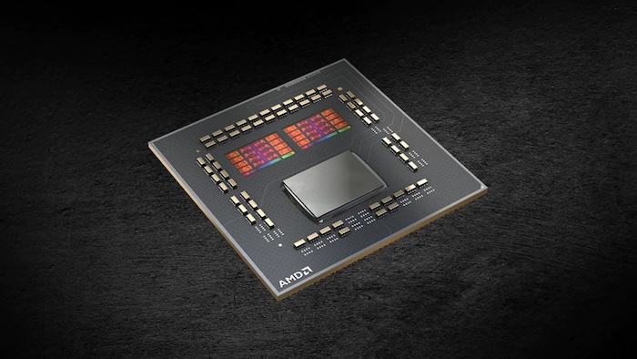 Image of AMD's Ryzen Processor Chip.
