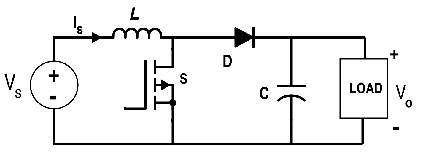 Circuit of Boost Converter