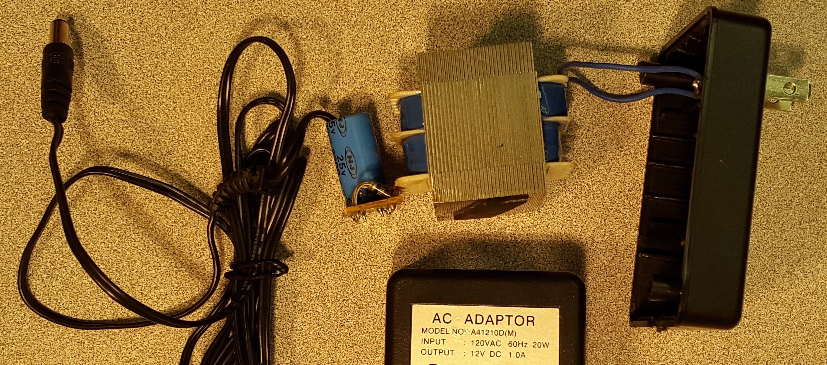 Full Circuit of AC-DC Adaptor