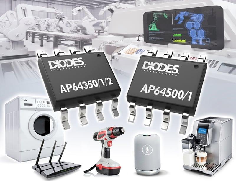 AP64350, AP64351, and AP64352 buck converters