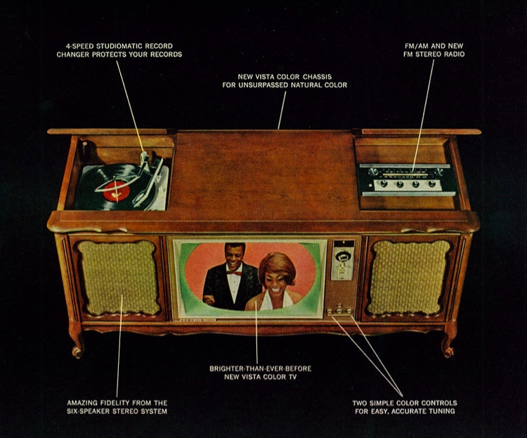 A Hi-Fi stereo console from 1964.