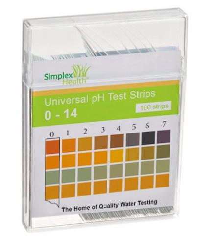A PH test strip is a common example of a colorimetric sensor