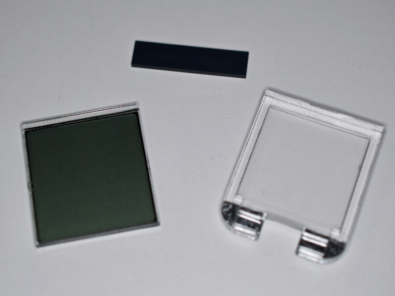 Parts of the LCD Display