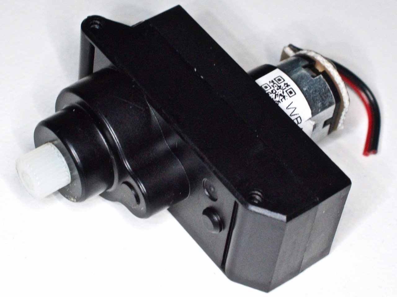 One of the drive motors