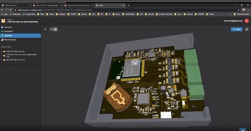 Altium 365 can help you send the correct files, viewable in 3D, to fab and assembly providers