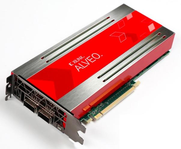 Alveo U250 data center accelerator card