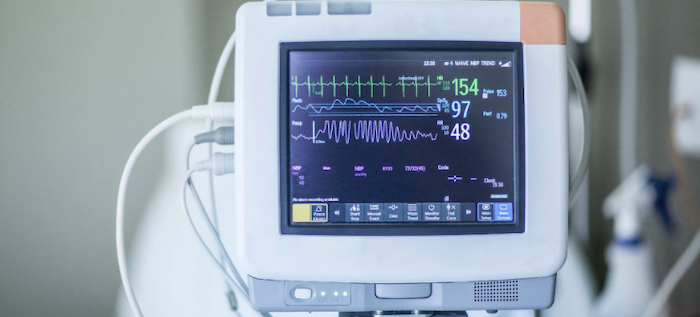 An electronic medical device