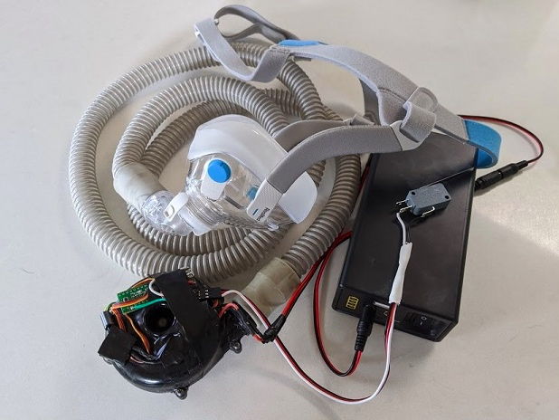 An open-source ventilator design based on CPAP devices