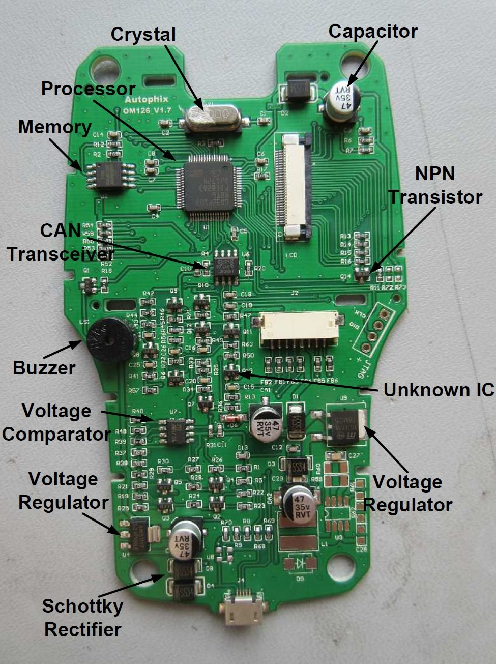 Teardown Tuesday  Vehicle Code Reader And Obd