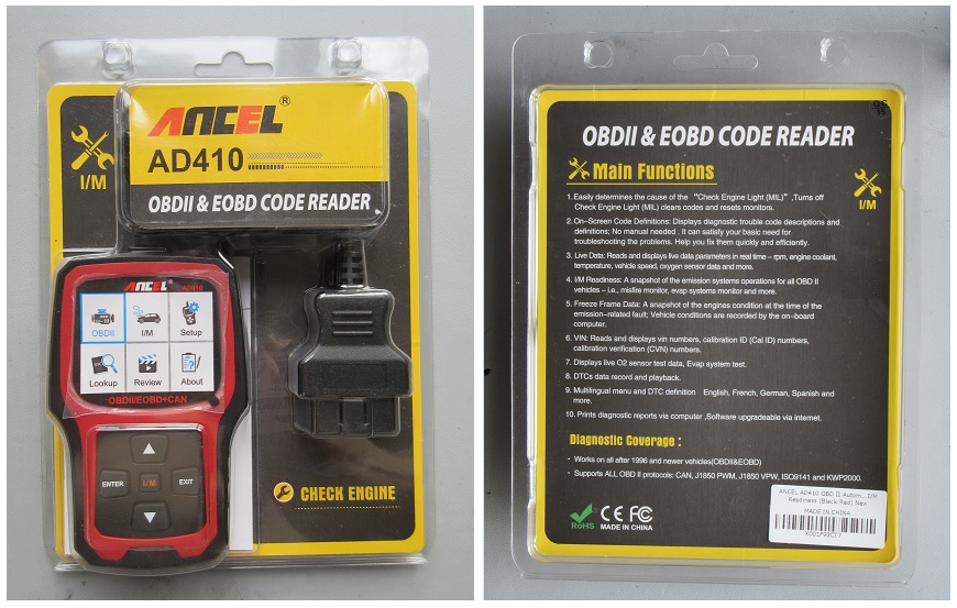 Vehicle Code Reader >> Teardown Tuesday Vehicle Code Reader And Obd Ii Scanner News